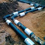 Прокладка-водопровода